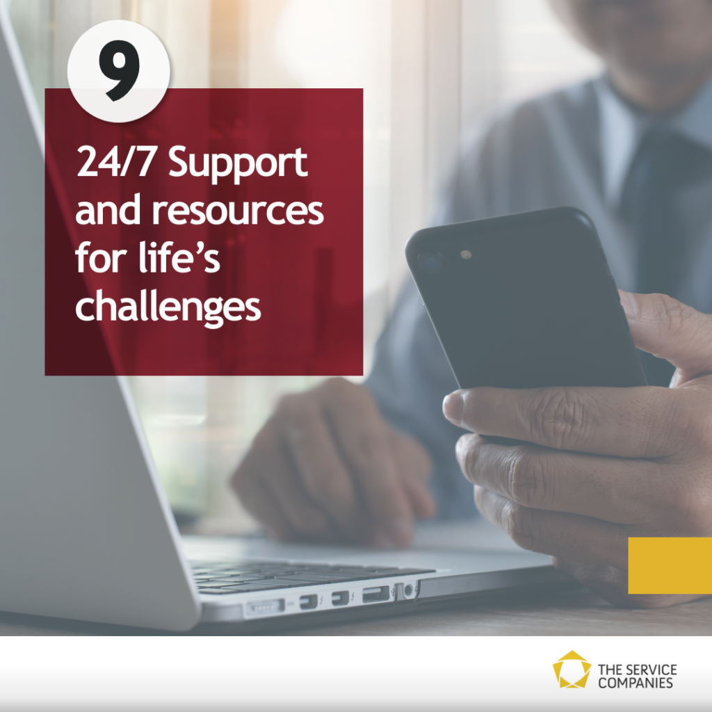 24/7 Support and resources for life's challenges