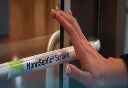 NanoSeptic Door Wrap
