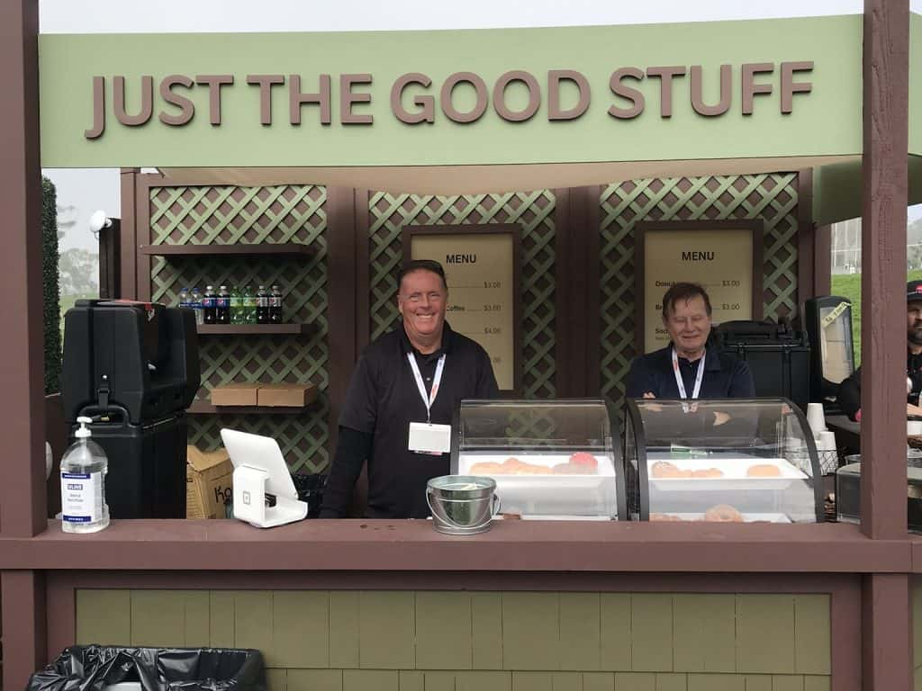 event concession staff