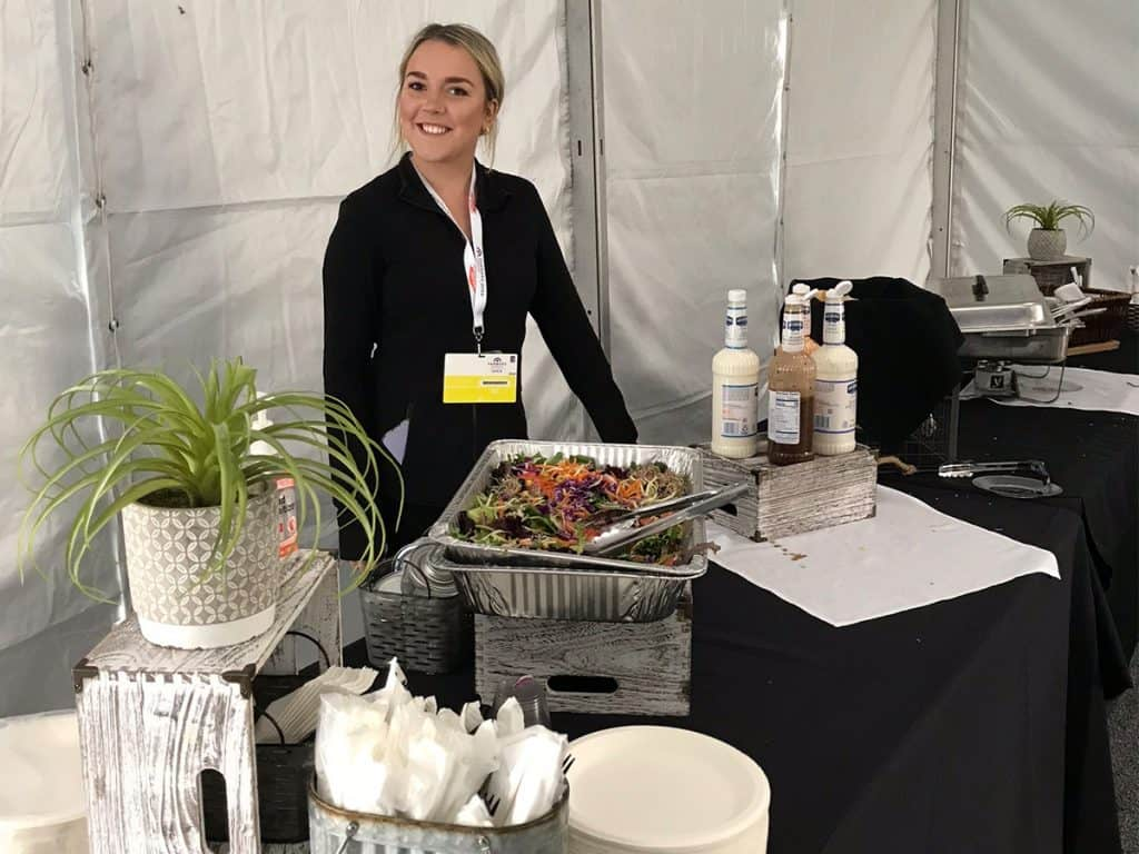 food server catering